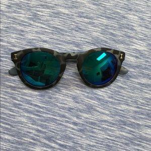 Animal Print Polarized Sunglasses